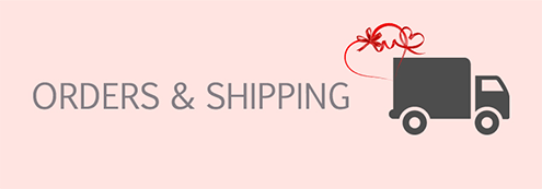 omono orders and shipping page header image